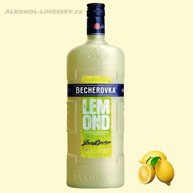Becherovka Lemond 1L - 20%